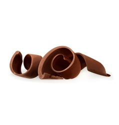 Chocolate shavings vector image vector image