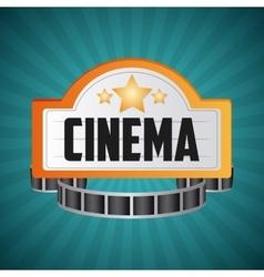 Cinema design movie icon colorful vector