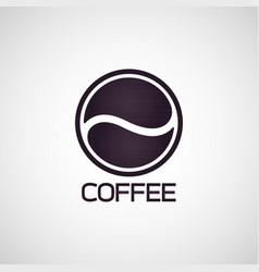 coffee logo icon vector image