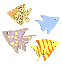 Color Fish design vector image vector image