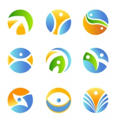 symbol design element vector image vector image