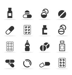 Tablet an icon vector