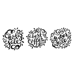 Hot sale hand drawn lettering vector