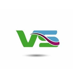 Vs logo vector