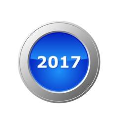 2017 button vector image