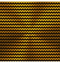 Background with zigzag pattern and gold texture vector