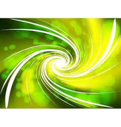 Abstract colorful swirl background vector image