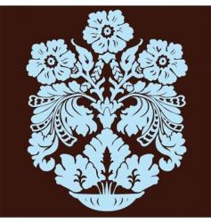 vase pattern vector image