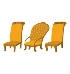 Chairs set vector