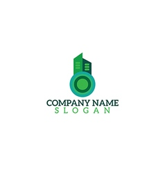 Logo building vector
