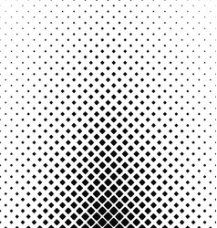 Abstract black and white rounded square pattern vector