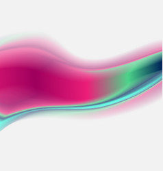 Bright abstract holographic wave background vector