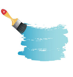 brush back vector image vector image