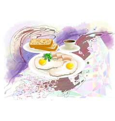 have good morning vector image vector image