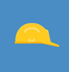 safety equipment protective helmet icon vector image
