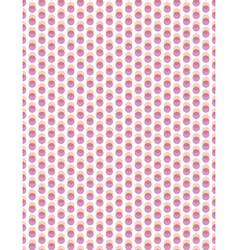 Abstract overlay polka dot seamless background vector image vector image