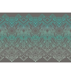 Geometric seamless pattern transformer vector
