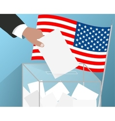 Usa elections of the american president vector
