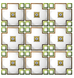 A tile pattern template vector