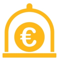 Euro standard icon from business bicolor set vector