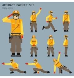 Aircraft carrier shooter vector