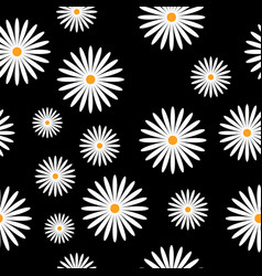 Flowers background pattern vector