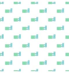 Radiator pattern cartoon style vector