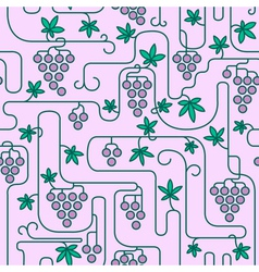 Vinegrape vector image vector image