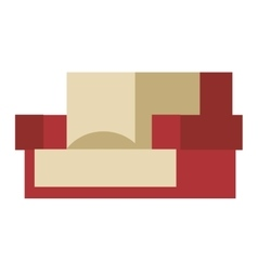Armchair icon vector image