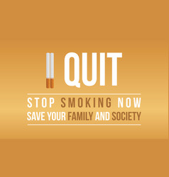 no tobacco day style background collection vector image