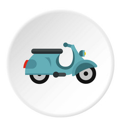 Scooted icon circle vector