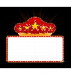 casino marquee vector image vector image