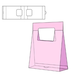 Folding pack 30 vector