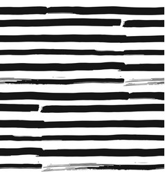 grunge brush strokes striped seamless vector image