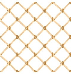 Nautical rope background pattern vector