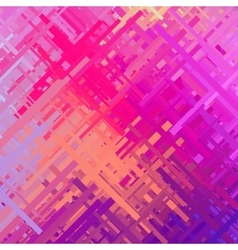 Pink glitch background vector