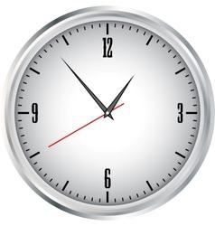 Clock grey vector image
