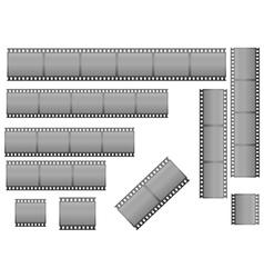 filmstrips vector image