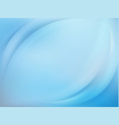 Soft blue light background with smooth lines eps vector