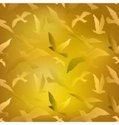 Bird fly vector