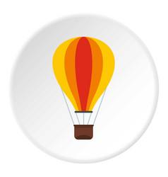 Baloon icon circle vector