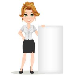 businesswoman 11 vector image vector image