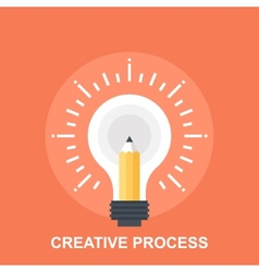 Creative Process vector image vector image
