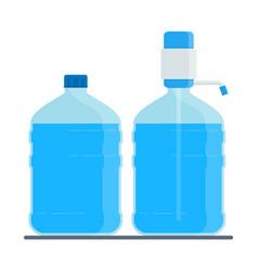 Big water bottle vector