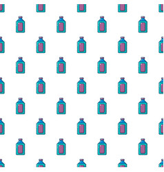 Plastic soap bottle pattern seamless vector