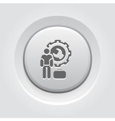 Service man icon vector