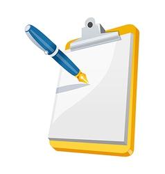 Icon notepad vector