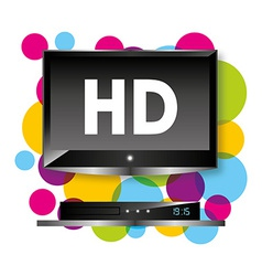 Tv hd vector