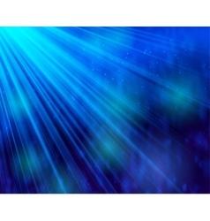 Abstract background light and shine bokeh deep vector image