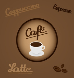 Coffee - design elements and typography vector